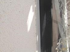 西京区の外壁塗装リフォーム。窓の周りのコーキングが新しくなりました。コーキングはとても重要です。塗装の前に防水処理をする事が雨漏り対策になります。