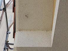 長岡京市の外壁塗装リフォーム。軒裏天井。