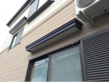 長岡京市の屋根外壁塗装リフォーム。塗装後の外観です。