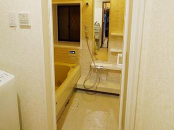 長岡京市のお風呂浴室リフォーム。リフォーム後のお風呂は、トクラスシステムバス ストーリー。省エネ住宅ポイントを申請して行った工事です。