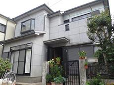 長岡京市の外壁塗装・バルコニー増築リフォーム。築17年の木造住宅。