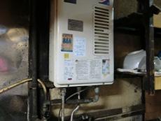 ライオンホームの湯沸かし器給湯専用リフォーム。