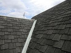 向日市の屋根塗装リフォーム。塗装前の屋根です。
