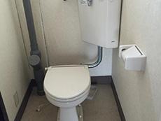長岡京市の中古マンションリノベーション。リフォーム前のトイレ。