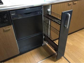 中京区 I様邸 30cm幅の食洗機 交換・取替えリフォーム事例