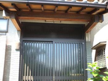 長岡京市 F様邸 玄関引き戸取替えリフォーム事例