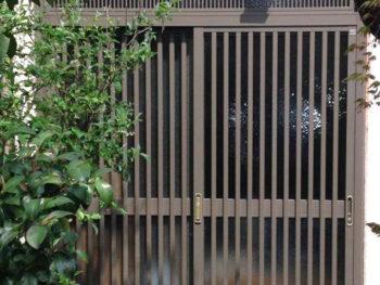 長岡京市 A様邸 玄関引き戸取替えリフォーム事例