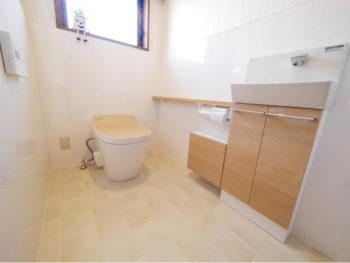長岡京市 F様邸 トイレ・手洗いリフォーム事例