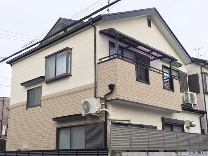 長岡京市 S様邸 外壁・屋根塗装リフォーム事例