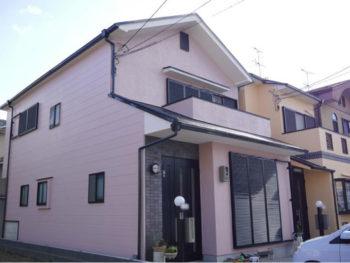 長岡京市 I様邸 お隣さんと一緒に外壁・屋根塗装リフォーム事例