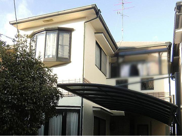 長岡京市 N様邸 外壁・屋根塗装リフォーム施工事例