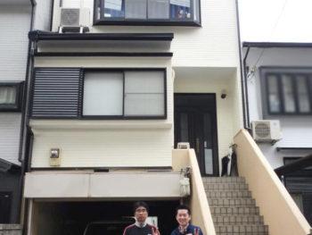 大山崎町 S様邸 外壁・屋根塗装リフォーム施工事例