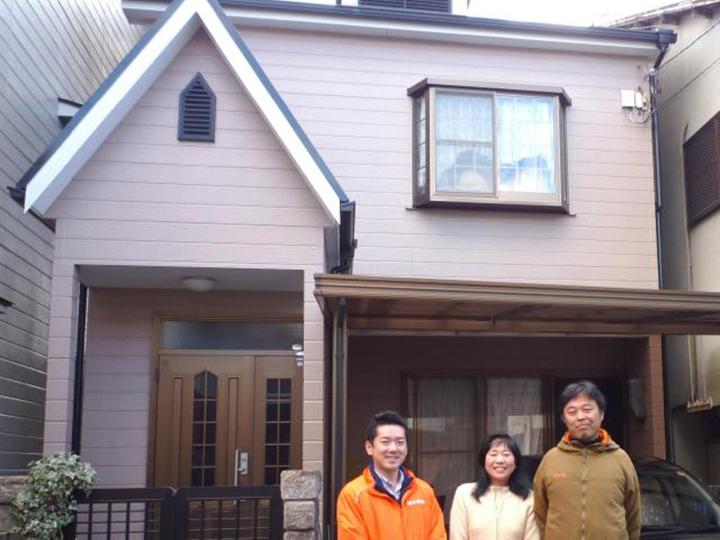 長岡京市 S様邸 外壁・屋根塗装リフォーム施工事例