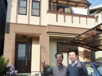 長岡京市 K様邸 外壁塗装リフォーム施工事例