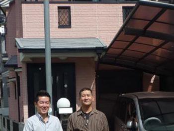 大山崎町 T様邸 外壁・屋根塗装リフォーム施工事例