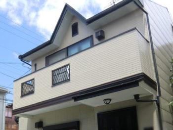 北区 T様邸 外壁・屋根塗装リフォーム施工事例