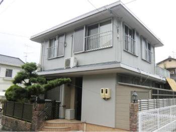 西京区 H様邸 外壁塗装・屋上防水・フェンス取替えリフォーム施工事例