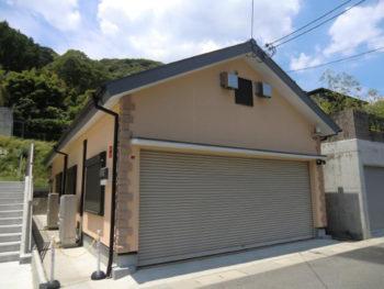 大山崎町 I様邸 車庫の外壁と屋根塗装で室内温度に変化が!