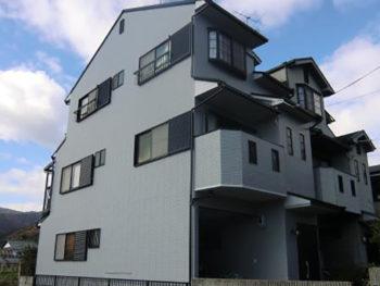 長岡京市 A様邸 外壁・屋根塗装リフォーム事例