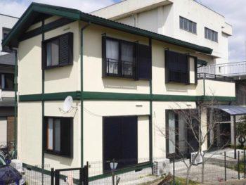 大山崎町 M様邸 外壁・屋根塗装リフォーム事例