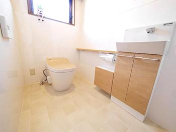 岡京市 F様邸 トイレ・手洗いリフォーム事例