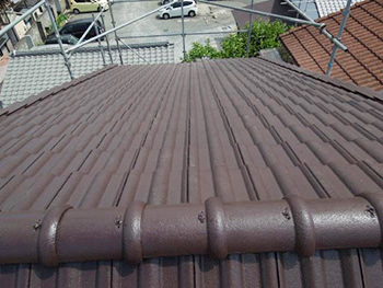 長岡京市 K様邸 外壁・屋根塗装リフォーム施工事例