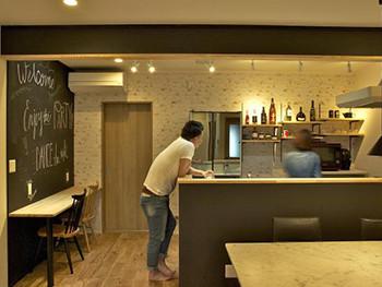 大山崎町 F様邸 カフェのようなキッチン・リビングへリノベーション!事例