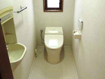 京都府長岡京 I様邸 トイレ・内装リフォーム事例