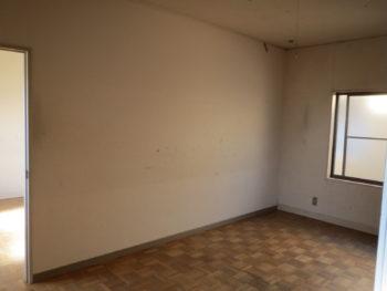 大山崎町で実家のリノベーション。2階の洋室。