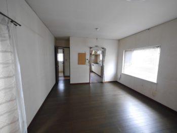 長岡京市の中古住宅リノベーション。一番奥にキッチンがありました。